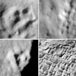 """Справа внизу дана для сравнения фотография """"земных"""" руин, все - остальные """"лунные"""""""
