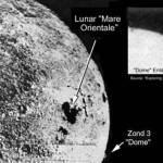 Снимок, сделан советским спутником «Зонд 3» в 1965 году.
