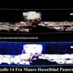 Панорамный снимок, сделанный «Аполлоном 14»