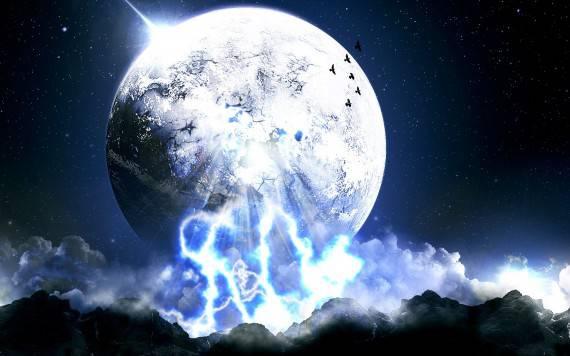 Земное прошлое Луны
