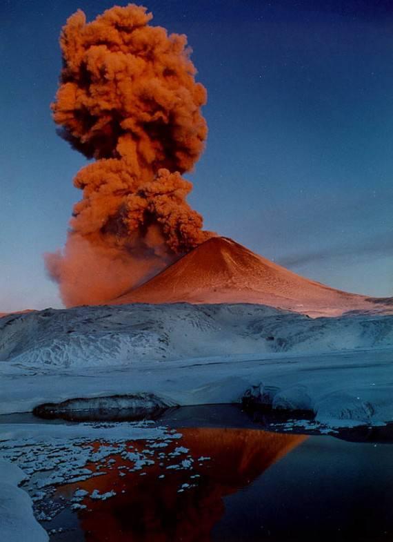 Про вулканы и мировую историю