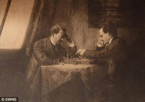 Как Ленин с Гитлером в шахматы играли