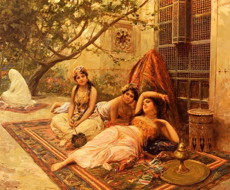 Женские платья османской империи xv xvii веков