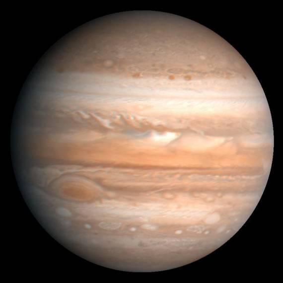 Планету Юпитер атаковали инопланетяне