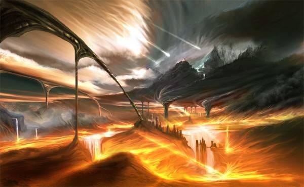 Конец света как всемирный потоп?