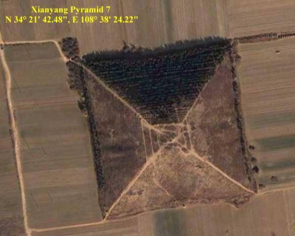Гигансткие пирамиды Китая