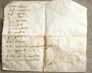 В Перу обнаружили древнее письмо на исчезнувшем языке