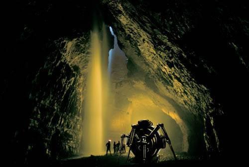 Телескоп в подземный мир
