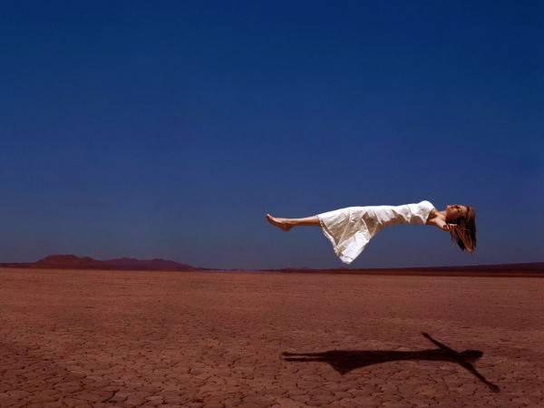 Левитация: человеку надо учиться летать?!
