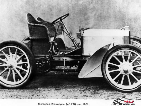 Mercedes, как все начиналось