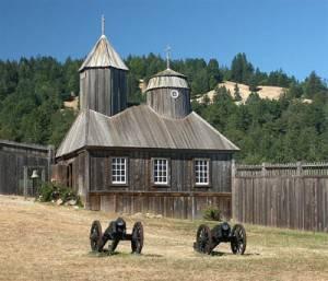 Первый Русский форт в Калифорнии