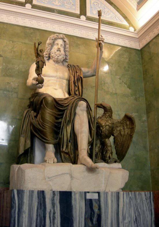 Боги русов в Древней Греции