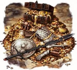 Чьи сокровища, более двух тысяч лет, охранял сторожевой пес?