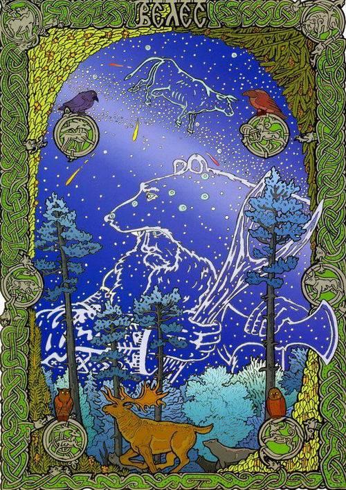 Животные в славянской мифологии