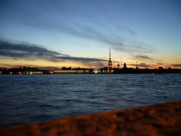 НЛО над Санкт-Петербургом