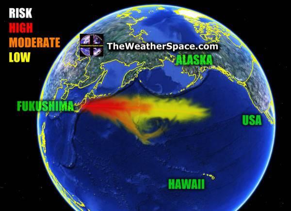 Мировой океан разнесёт последствия катастрофы по всей планете