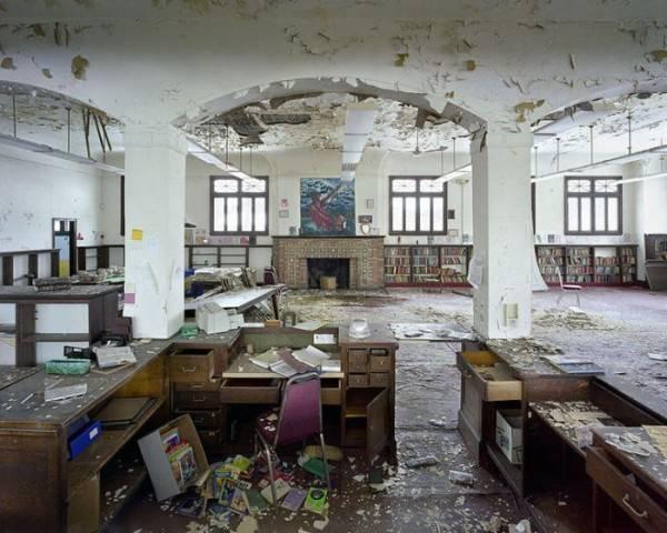 Детройт - город призрак