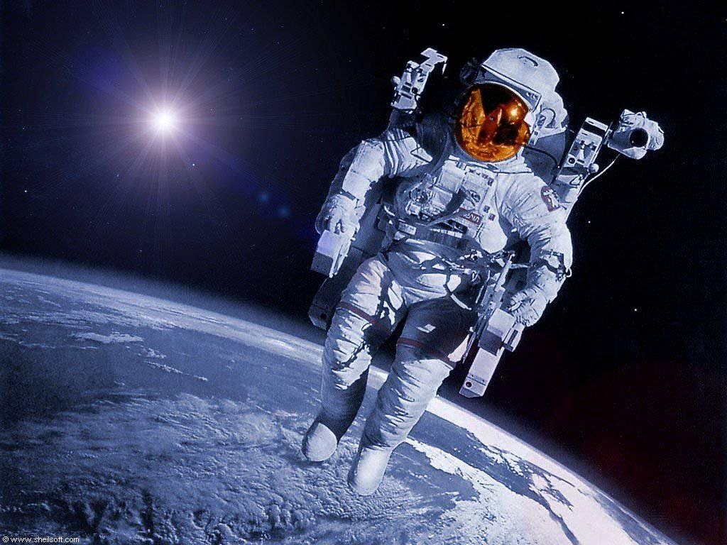 Космонавты видели нло