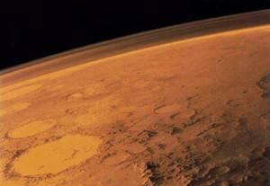 Солнце крадёт атмосферу Красной планеты