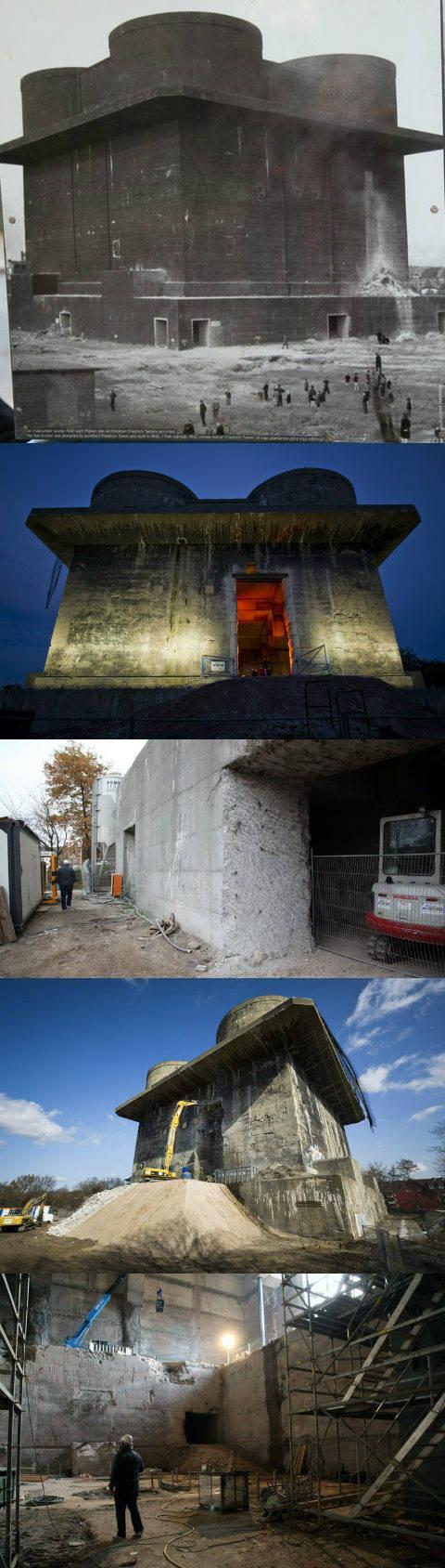 Нацистский бункер будет превращен немцами в альтернативную электростанцию