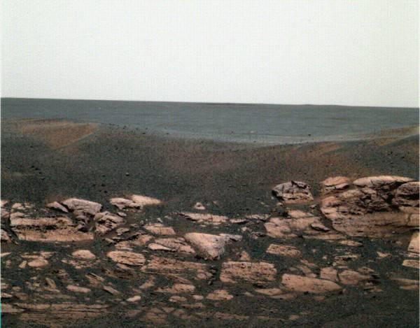 Марсианские хроники, или Какого цвета Красная планета?