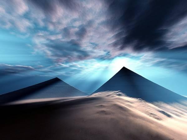 Пирамиды излучают таинственную энергию