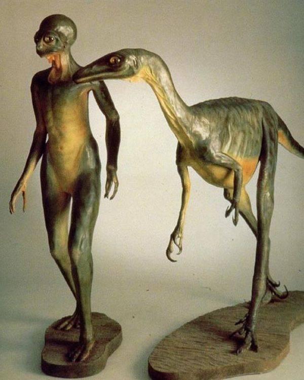 Динозавры – пилоты НЛО?