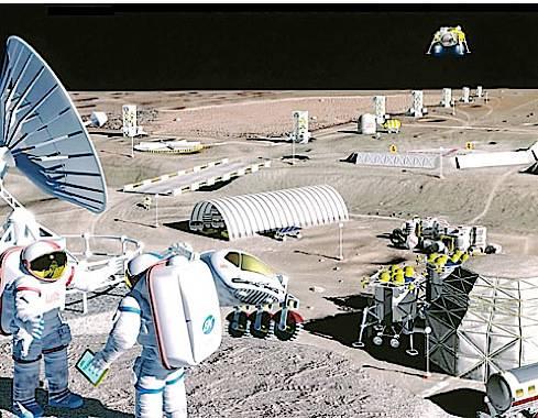 Колония на марсе так ее видят