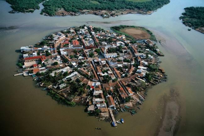 Мескальтитан – город на воде