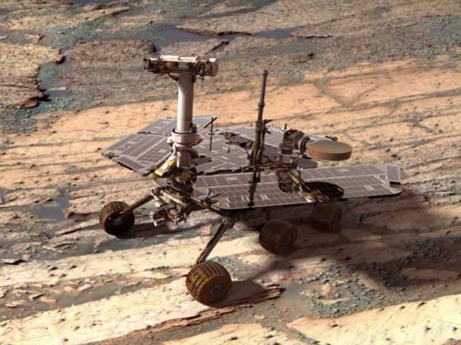 Марсианская вода
