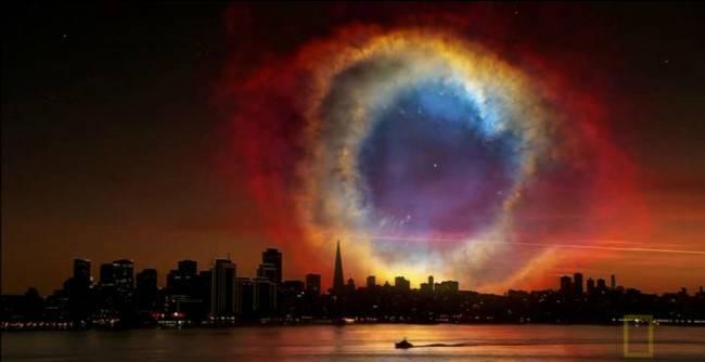 Фантастические виды ночного неба Земли