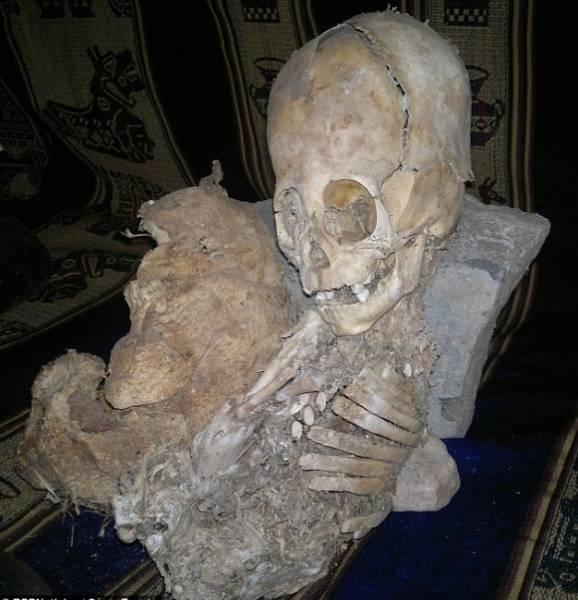 Китайское кладбище инопланетян
