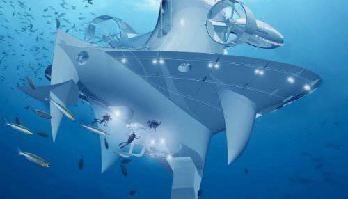 Фантастическое научно-исследовательское судно SeaOrbiter становится реальным