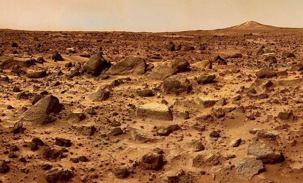 Уровень радиации на Марсе сравнительно низкий