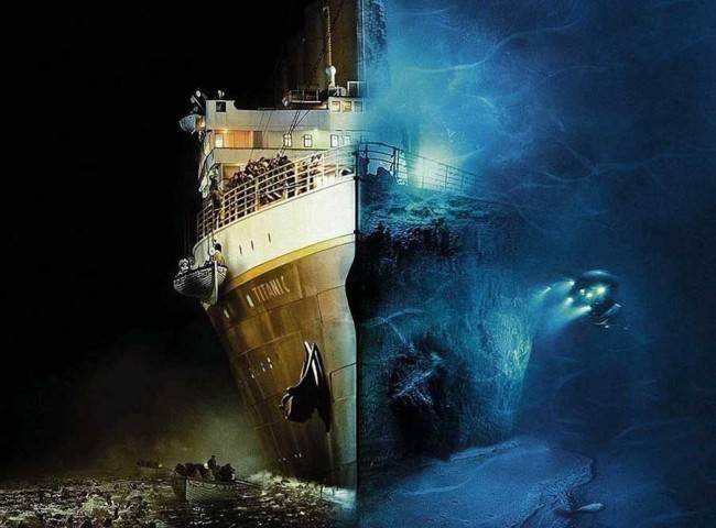 Крушение «Титаника» является