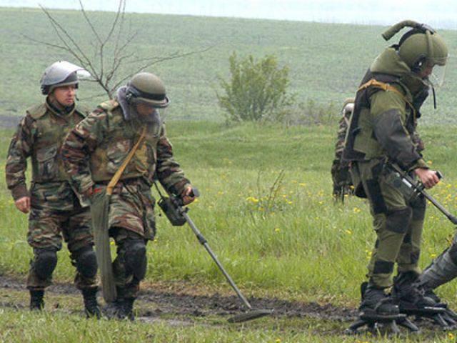 План по разминированию Чечни и Ингушетии на 2013 год выполнен на 130%