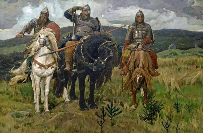 Русские богатыри: кто они?