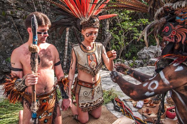Ретуальный секс в разных племенах