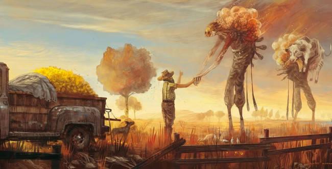 art-красивые-картинки-инопланетяне-фермер-792146
