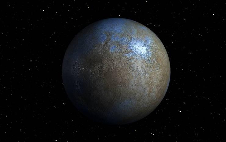 На планете Церера обнаружили гору, похожую на Монблан