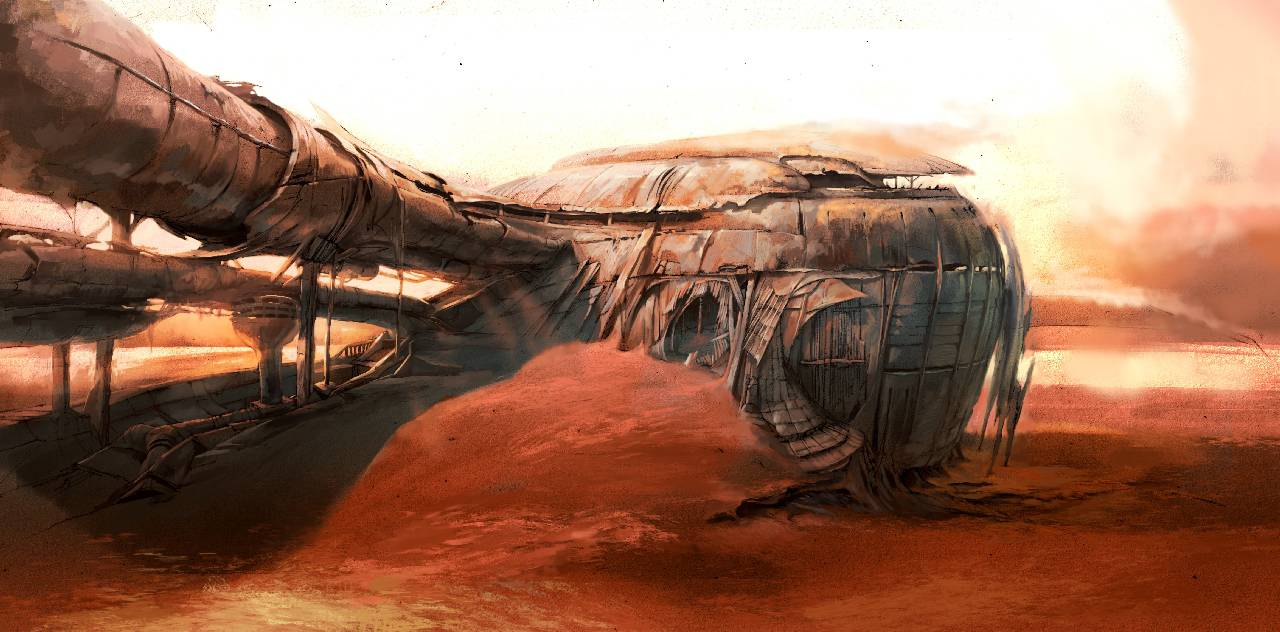 Что произошло на Марсе?