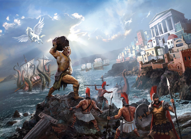 1200x873_1383_Cyclades_cover_2d_fantasy_warriors_battle_cyclops_picture_image_digital_art