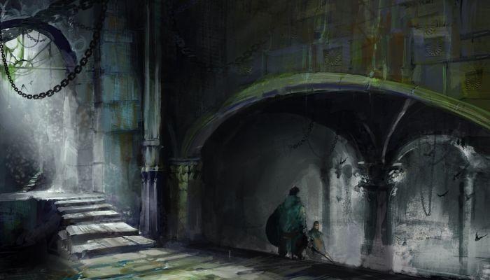Картинки по запросу dungeon concept art