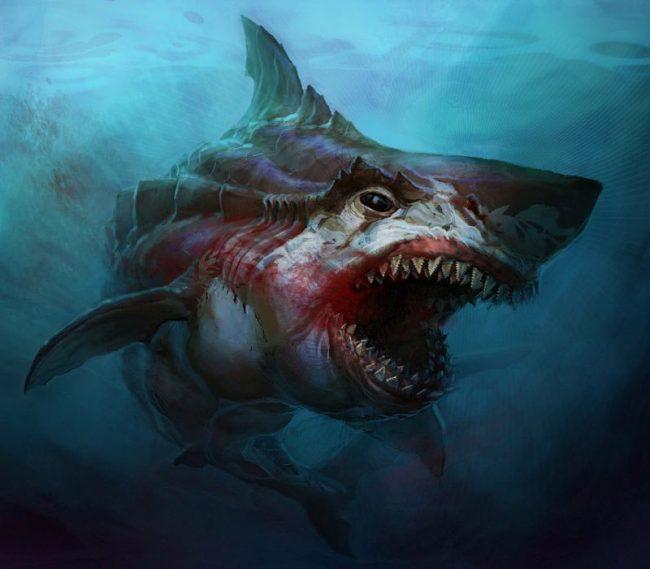 Древние хищники морских глубин и океанов