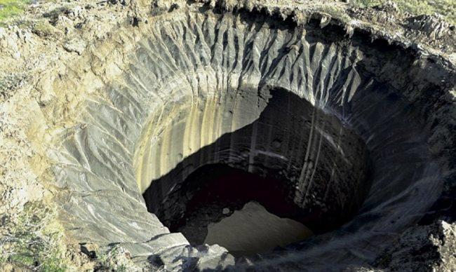В Сибири под землей найдено множество пустот, заполненных метаном, которые готовы взорваться в любой момент