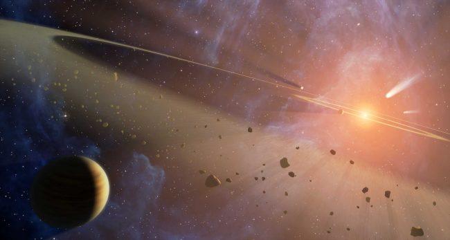 На орбите Марса обнаружены остатки погибшей планеты