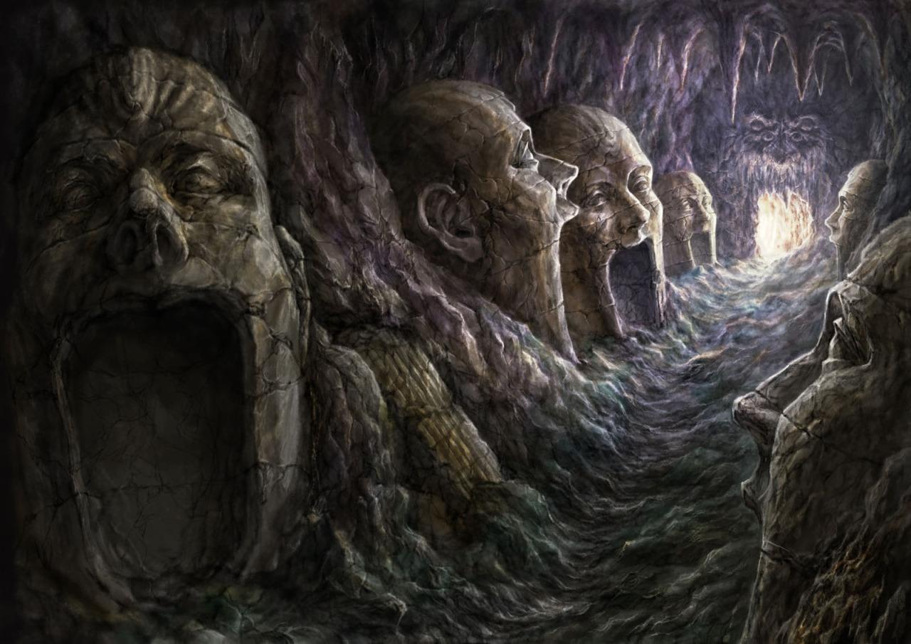 Ужасы, секреты и тайны подземелий