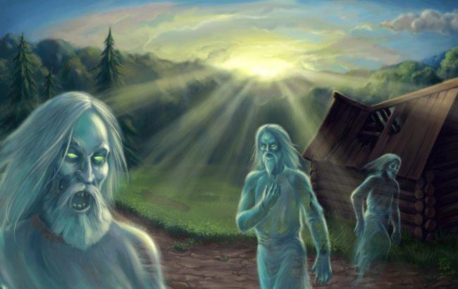 Упыри и вурдалаки из славянских легенд