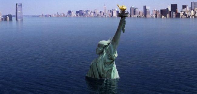 Ученые показали на видео возможную гибель Нью-Йорка