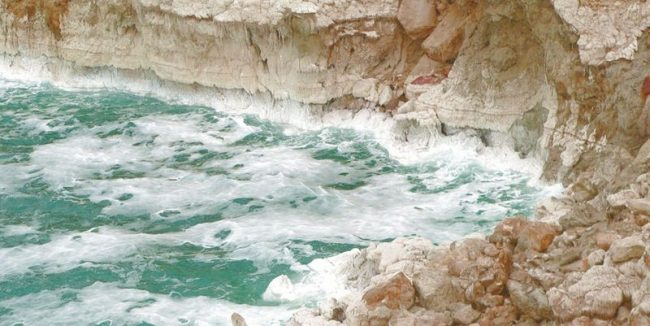 Ученые обнаружили следы древней катастрофы на дне Мертвого моря